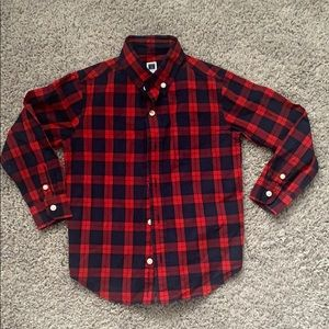 Janie and Jack button down Size 4